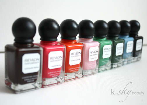 Revlon Parfumerie Scented Nail Polish Collection