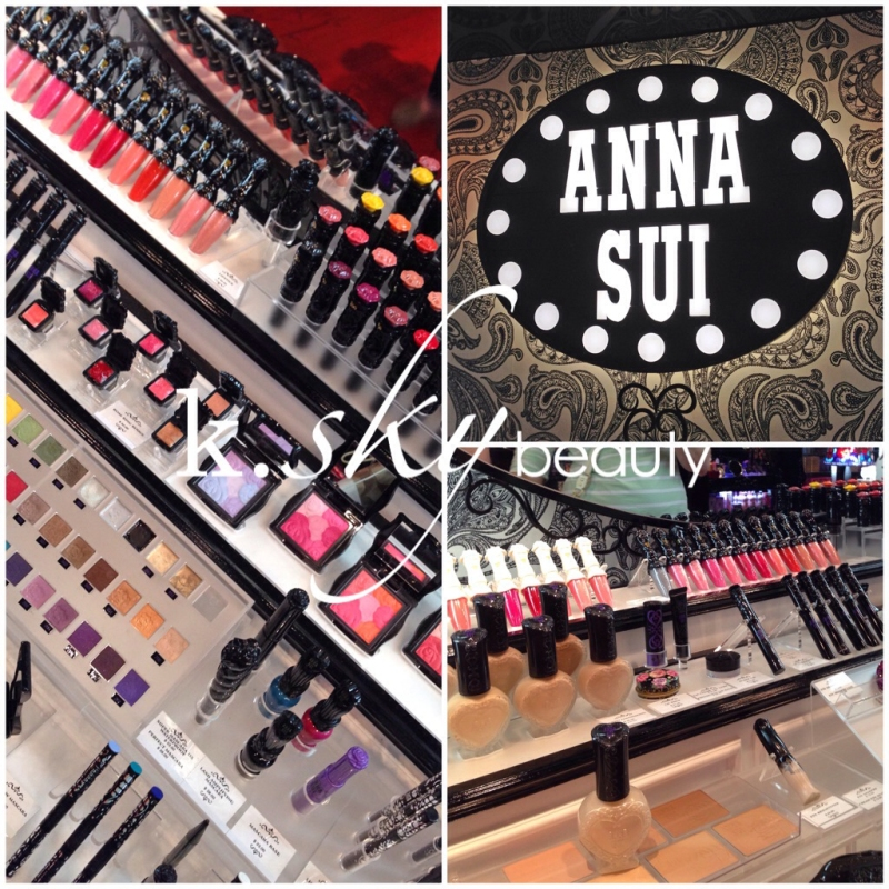 Anna Sui, boutique, NYC, SoHo, makeup, cosmetics, shopping