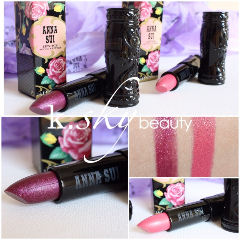Anna Sui Lipstick in 250 and 305