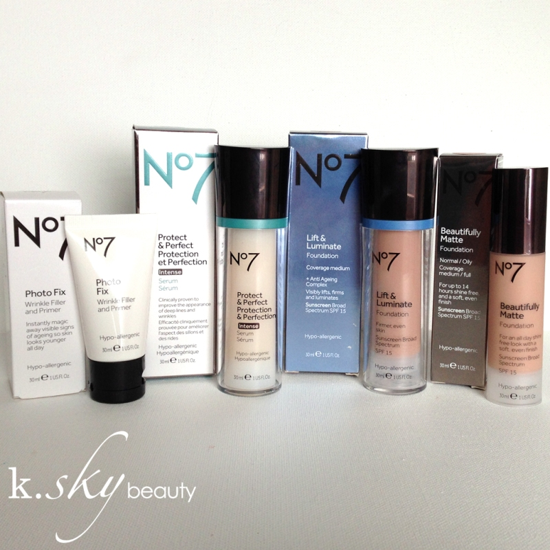 No7 Foundations & Skincare